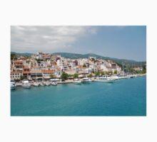 Skiathos Town, Greece Kids Tee