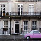 Barbie Pink in London by Yannick Verkindere