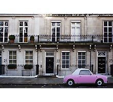 Barbie Pink in London Photographic Print