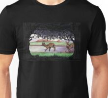 Out of the Forest II `Roe Deer in Morayshire Unisex T-Shirt