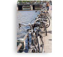 The Bike Capital, Amsterdam Canvas Print
