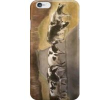 ©study of cows iPhone Case/Skin