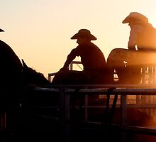 Rodeo Sunset by BarneyB