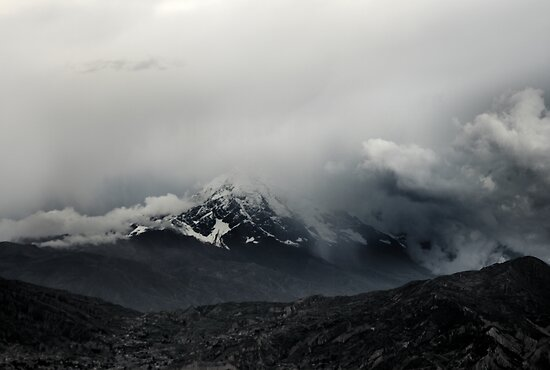 Shy (Illimani Peak) by Michael Dunn