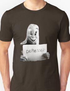 Depressed Smile Unisex T-Shirt