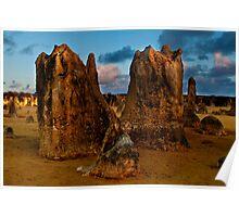 110618 Nambung National Park Pinnacles 10 Poster