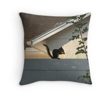 Squirrly Throw Pillow