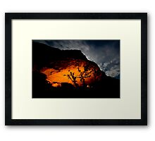 makeshift kingdom Framed Print