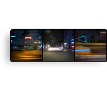 Ray Of Light - Triptych #2 Canvas Print