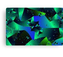 Iridescent Crystals Canvas Print