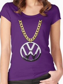 The VW Big Necklace Women's Fitted Scoop T-Shirt