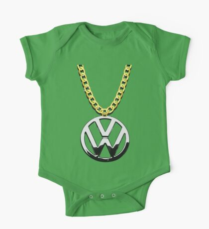 The VW Big Necklace One Piece - Short Sleeve