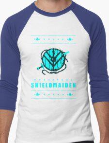 shieldmaiden for the holidays Men's Baseball ¾ T-Shirt