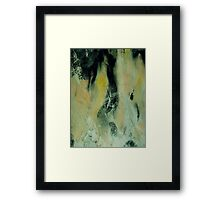 cry no more.... mascara stained glance Framed Print