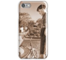 Old Time Sweethearts iPhone Case/Skin