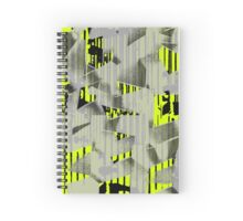 Yellow electrix flashes Spiral Notebook