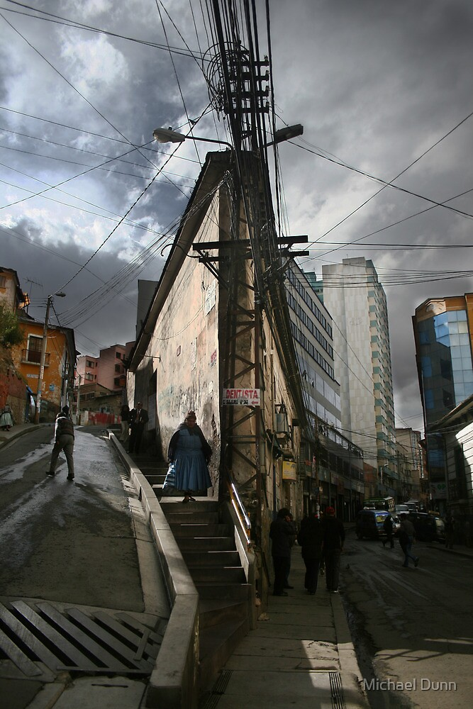 Flatiron Building in La Paz by Michael Dunn