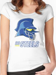 Team Steels Women's Fitted Scoop T-Shirt