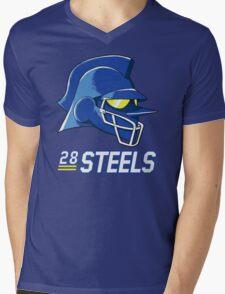 Team Steels Mens V-Neck T-Shirt