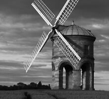 MIll and tramlines B&W by yampy