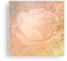 Sleeping Rose Canvas Print
