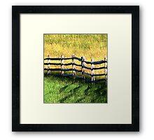 In Green Pastures Framed Print