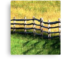 In Green Pastures Canvas Print