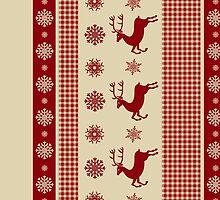 Christmas Deer by dannyaasgard