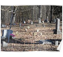 Old Southern Cemetery Poster