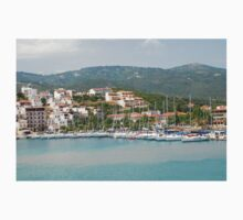 Skiathos coastline, Greece Kids Tee