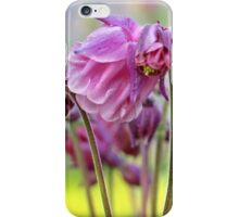 Pink Columbine iPhone Case/Skin