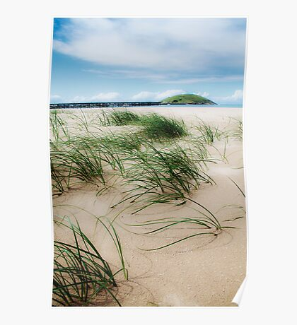 Sand dune at the Jetty Poster