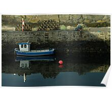 Old Harbour, Portsoy Poster