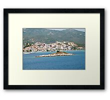 Skiathos island, Greece Framed Print