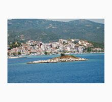 Skiathos island, Greece One Piece - Short Sleeve
