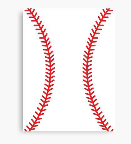 Baseball Canvas Print