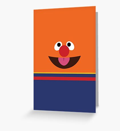 Ernie Sesame Street Greeting Card