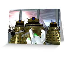 Daleks - Oops! Greeting Card