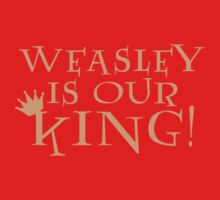 Weasley Is Our King! Kids Clothes