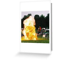 Into the Heat Greeting Card