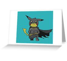 Bat Pikachu Greeting Card