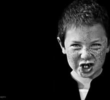 """Another day, another boy who has never considered playing """"connect the dots"""" with his freckles. by alan shapiro"""