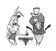 The March Hare and the Mad Hatter Photographic Print