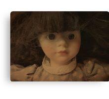 The Doll Canvas Print