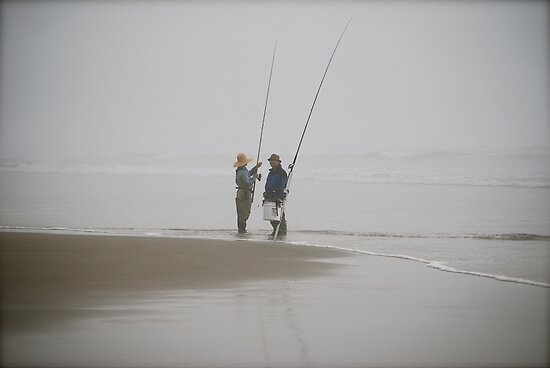 Oregon Fishing by Randall Robinson