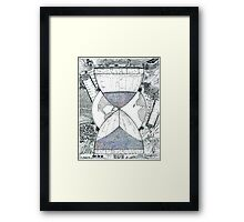 Hourglass Framed Print