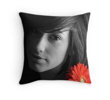 Portraiture Throw Pillow