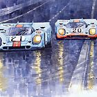 Gulf-Porsche 917 K Spa Francorchamps 1970 by Yuriy Shevchuk