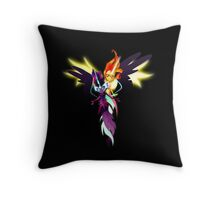 Sunset Shimmer and Twilight Sparkle Throw Pillow