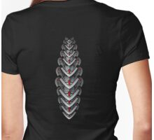 Metal Spine - Dark Womens Fitted T-Shirt